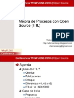 06 - Mejora de Procesos Con Open Source ITIL - Neurowork - WhyFLOSS