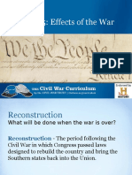 reconstruction powerpoint  1