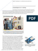 Arduino UNO Datalogger for Complete Beginners (Ie_ No Soldering) _ Arduino Based Underwater Sensors