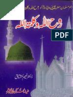 Rooh Allah Wa Kalima Tullah by Dr Naeem Mushtaq