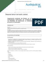 Resumen Tema 4 de Auxilio Judicial _ Auxilio Judicial