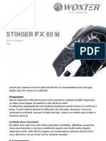Woxter Stinger FX 80 M - Manual