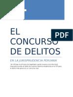 EL CONCURSO DE DELITOS