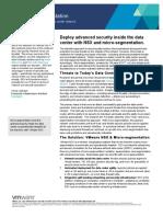 VMware Microsegmentation Solution Overview