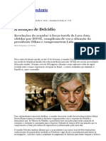 A Delação de Delcídio - Revista ISTOÉ 03/03/16