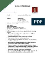 Raman Resume 1