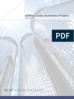 The Building Codes Assistance Project -- Annual Report 2009 [Med Quality]
