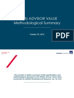 AXA Methodological Summary