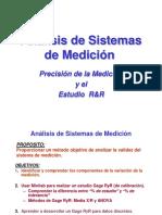 Analisis de Sistemas de Medicion y R&R