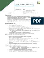 Plan Anual de Trabajo Del Aula - 2015