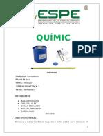 Informe de Quimica PRO