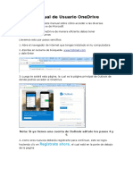 Trabajo 1-(Manual de Usuario OneDrive