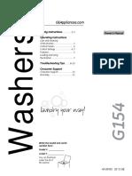 GE Washer Manual