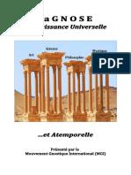 S1-01-Gnose,Connaissance Universelle Et Atemporelle