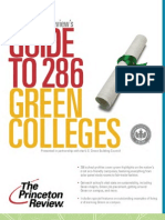 The Princeton Review's Guide to Green Colleges