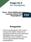 2 - Hukum Transportasi