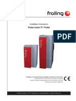 Froling P1 Pellet Installation Operating Instructions