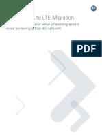 UMTS/HSPA to LTE Migration