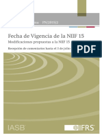 ED_Proposed Amendments to IFRS 15_ES