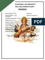 Saraswati Puja Samaroh Samiti Accounts 2016