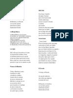 10 Poemas y Cantos a Guatemala