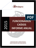Informe sobre funcionarios caidos 2015-Venezuela