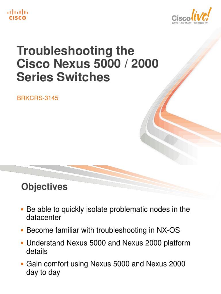Nexus Troubleshooting | Ethernet | Network Switch