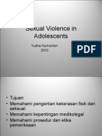 Sexual Violence in Adolescents 2012 Tadulako