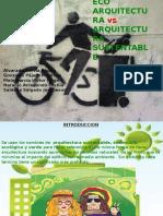 Eco Arquitectura vs Arquitectura Sustentable