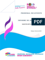 Informe Sectorial 2012