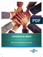 Cartilha Sebrae - Cooperativa de Crédito