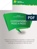 Cooperativismo Passo a Passo 2015