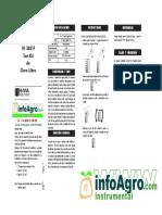 Instrucciones Medidores Kits Economicos de Cloro Libre y Cloro Total Hi3831 Hi3831t