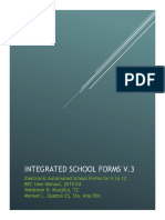 Integrated School Forms V2 Manual