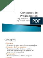 Conceptos de Programacion