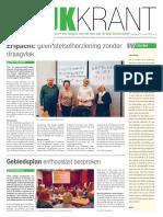 Wijkkrant Buitenveldert Amsterdam Maart 2016