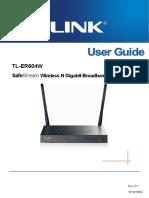 Tl-er604w v1 User Guide 19100
