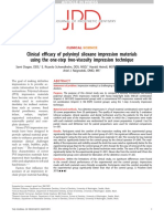 2015 Clinical Efficacy of Polyvinil Siloxane Impression Materials