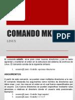 Comando Mkdir