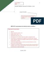 Relatorio Tecnico UFSC Joaquim Gusmão