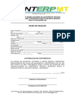 Ficha de Filiação - SINTERPMT
