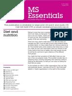 Diet and Nutrition (MS Essentials 11) ES11.0812 - Web_0