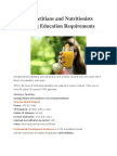 Georgia Dietitians and Nutritionists Continuing Education Requirements