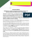 PRONUNCIAMIENTO / IM-Defensoras condena el asesinato de la feminista y defensora de derechos humanos lenca Berta Cáceres y exige justicia (03032016)