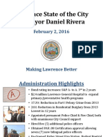 Lawrence State of the City 2016