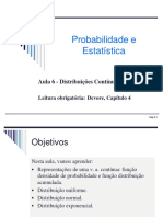Aula 6, Parte 1 - Probabilidade Distribuições Contínuas 2014_1.pdf
