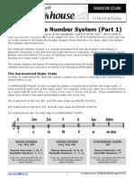 Nashville Number System Part 1