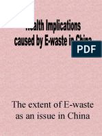 e Waste Presentation