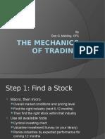 the mechanics of trading