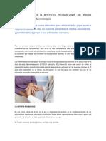 Tratamiento Contra La ARTRITIS REUMATOIDE Sin Efectos Secundarios Con Ozonoterapia
